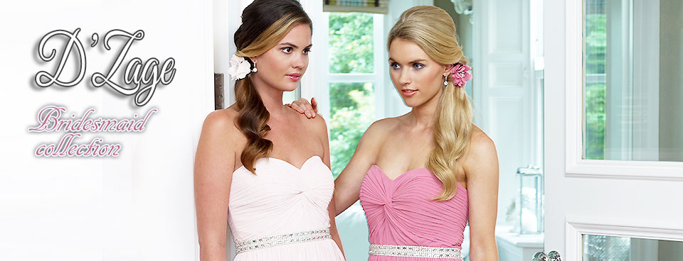 D'Zage Bridesmaids Collection