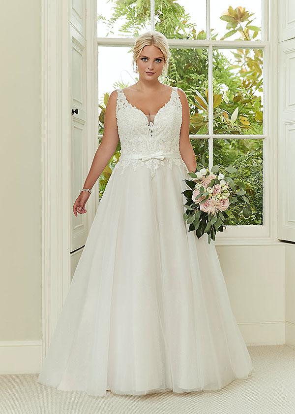 silhouette wedding dresses